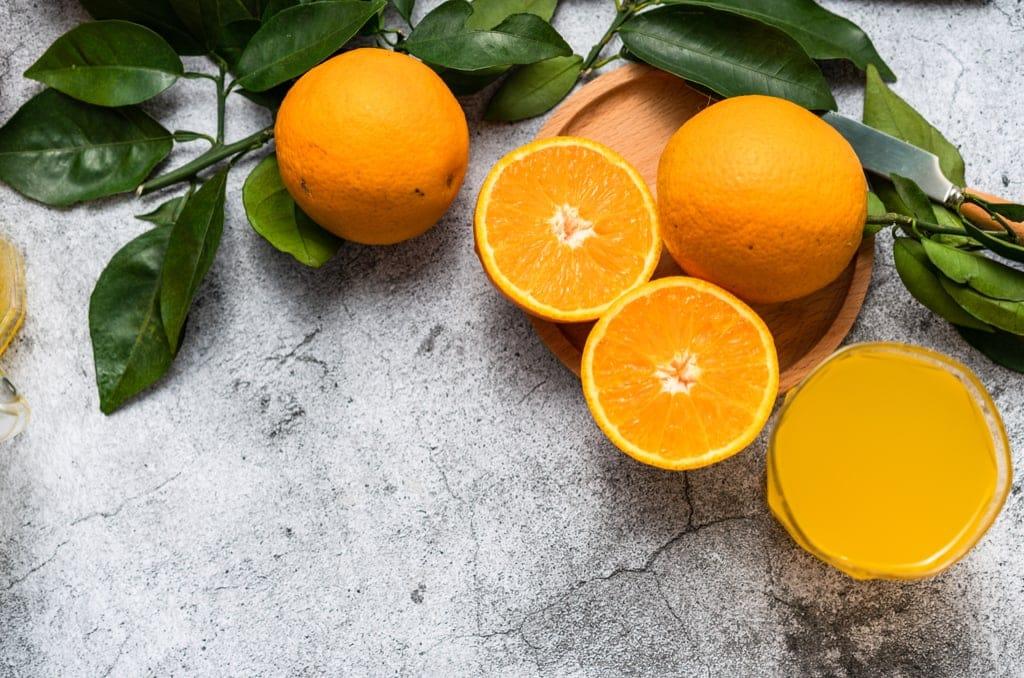 Orangen, Orangensaft