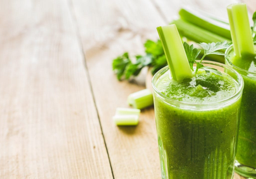 Smoothie with Celery